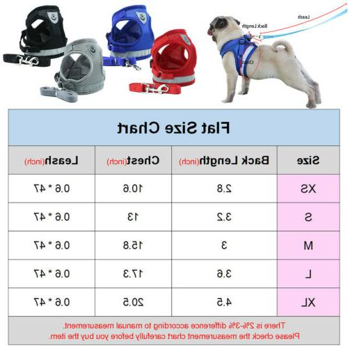Pet Harness Breathable Mesh And Vest Strap Small Dog