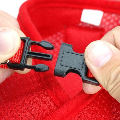 Dog Harness Pug Nylon Mesh Harnesses Vest Leash XS-XL