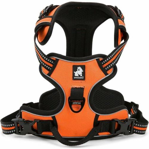 Dog Harness Reflective Pet Puppy Safety Vest With Handle Adj