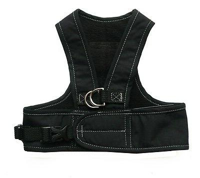 Dog Harness Step Easy Step-in Harness - My Canine Kids Black