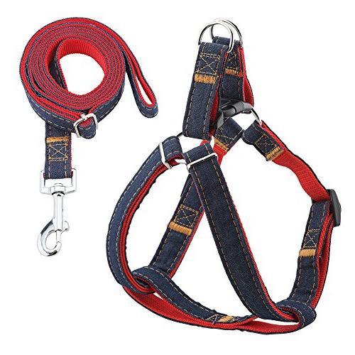 dog leash harness adjustable durable