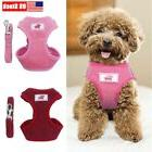 Dog Leash Harness Set Adjustable Durable for SmallPet Dog Wa