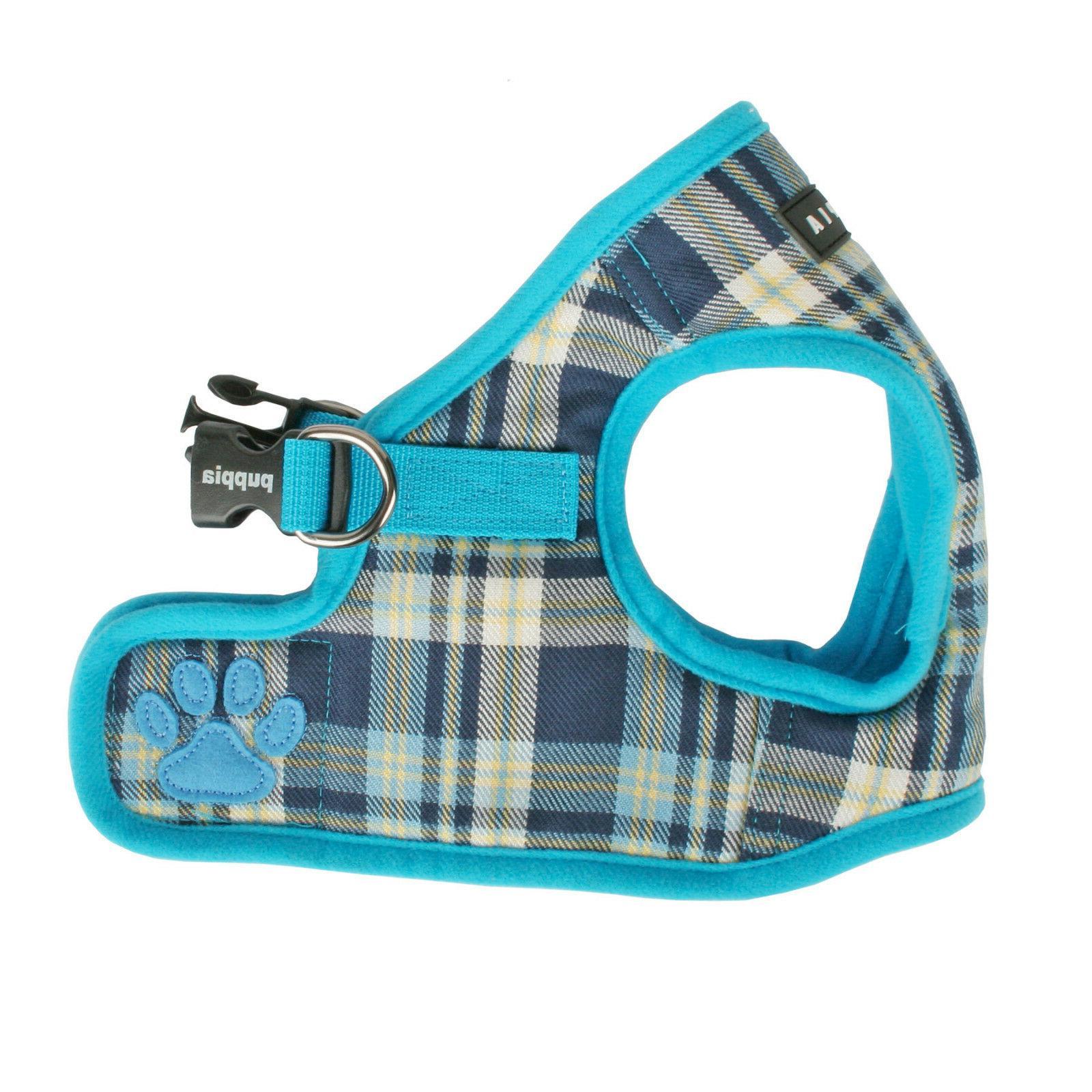 Dog Puppy Harness Soft Vest- Puppia - Spring - Blue - Choose