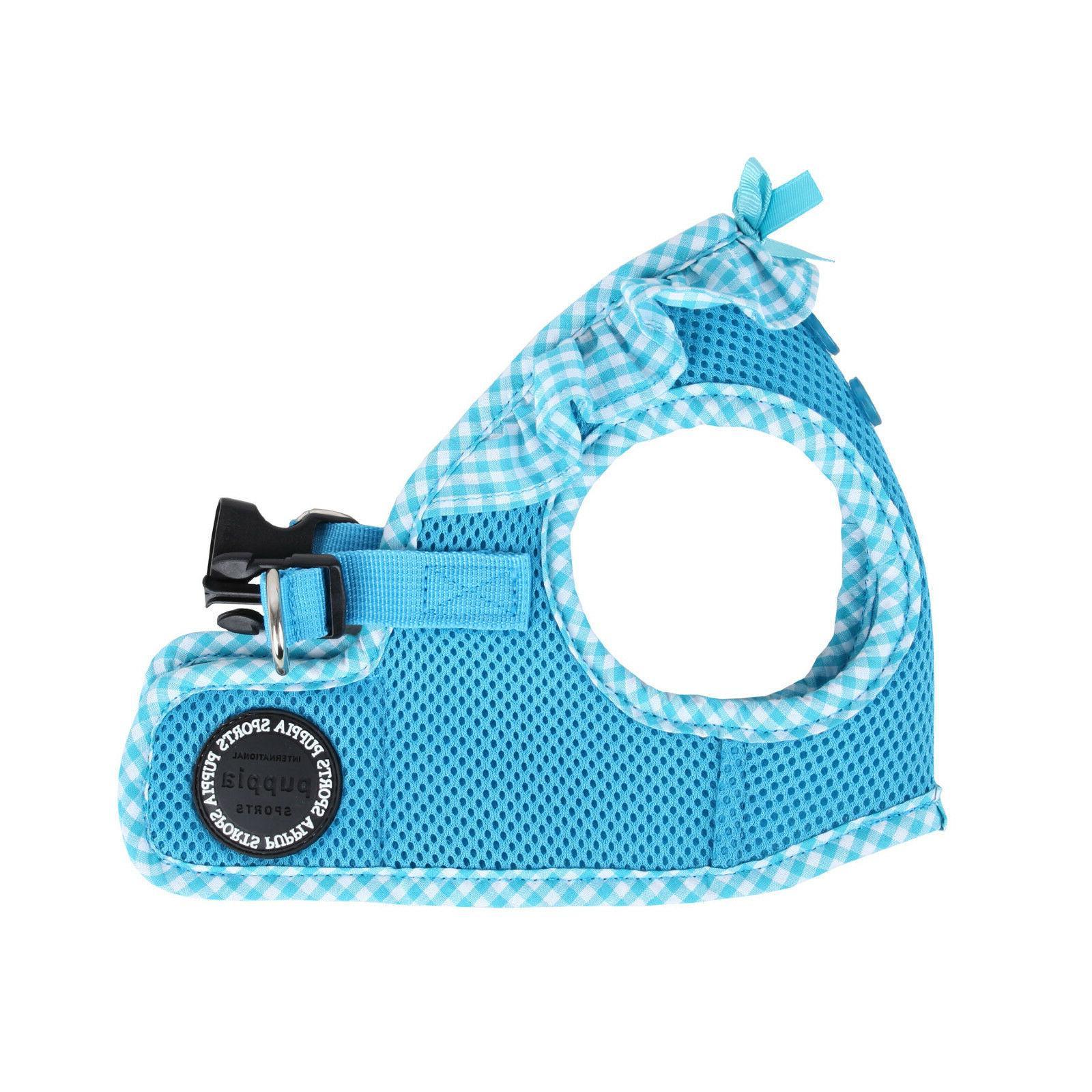 Puppia - Dog Puppy Mesh Harness Soft Vest - Vivien - Sky Blu