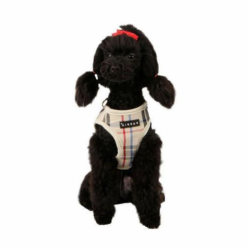 Puppia Dog Puppy Harness Vest - - Pink, Black, - M, XL