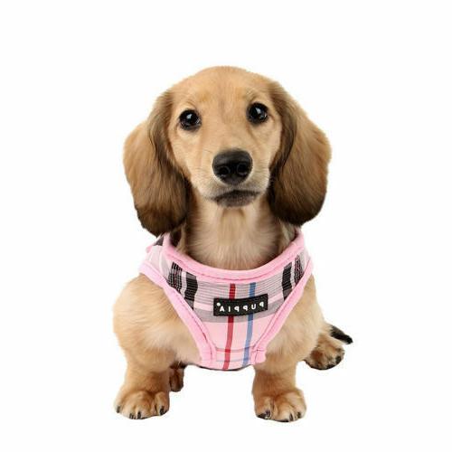 Puppia - Puppy Harness Vest Junior - Pink, Black, - S, M, XL