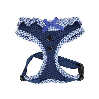 Dog Puppy Soft Harness - Puppia - Vivien - Navy Blue - Choos
