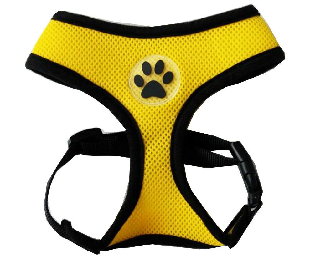 Mesh Harness - Paw Design - - L