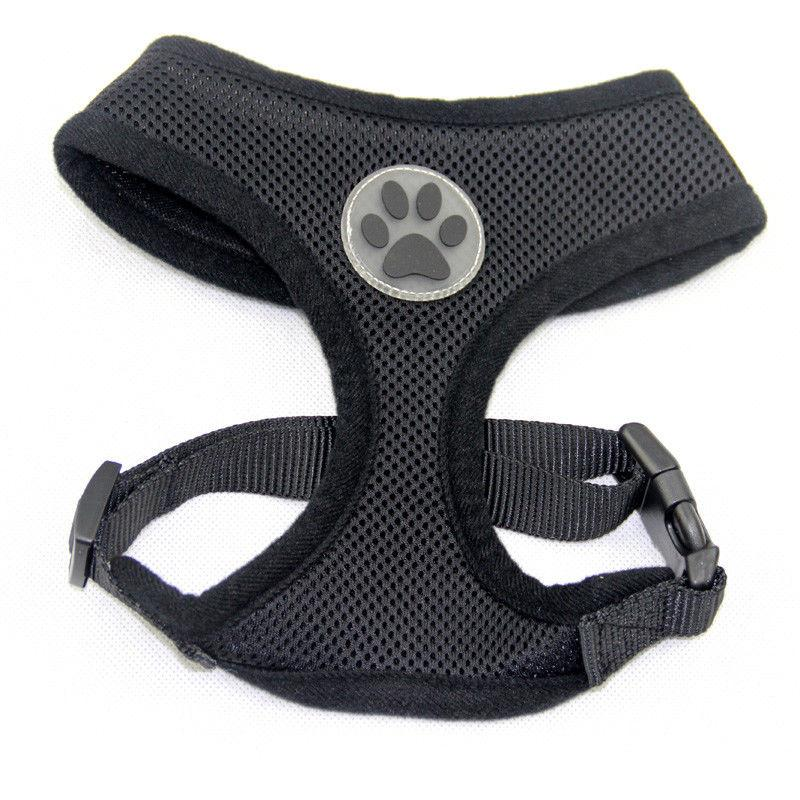 Dog Puppy Mesh Harness Design - 10 - S, M, L