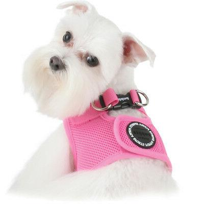dog puppy step in soft harness vest