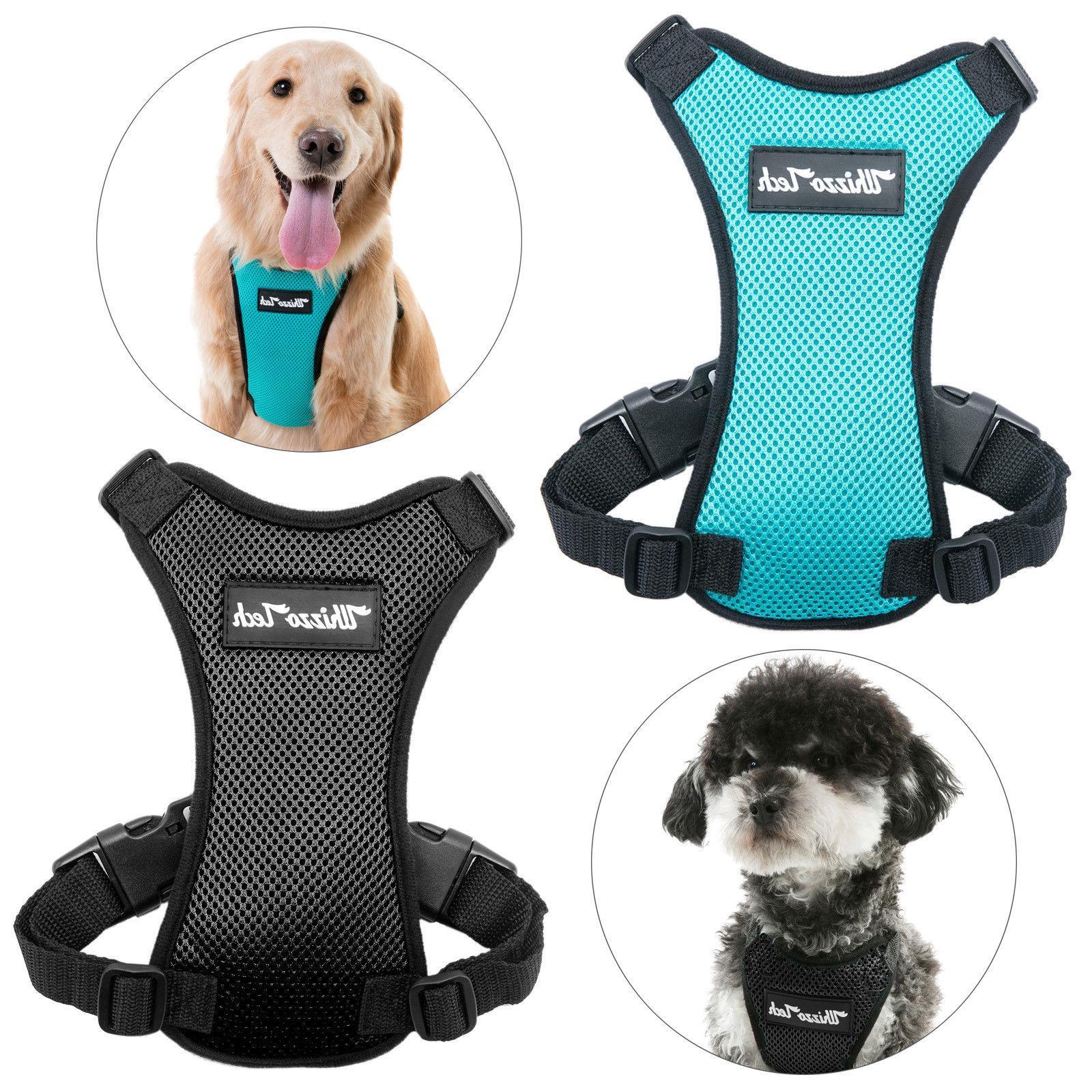 dog safety vest harness pet dog adjustable