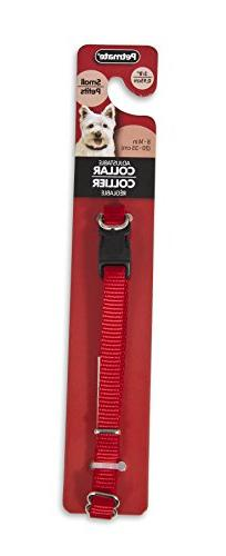 "Petmate Doskocil Co. Inc. Collar, Adjustable, Red, 3/8"" x 8"""