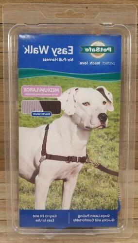 easy walk o pull dog harness size