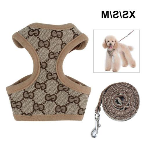 Dog Harness Leash Walk Puppy Fashion Accessories Clothes Walking M