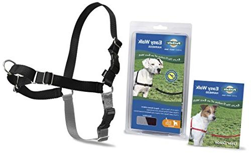 Gentle Leader Easy Walk Harness - Black - 20 in. to 28 in.