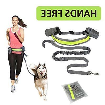 Hands Free Dog Leash Collar Harness