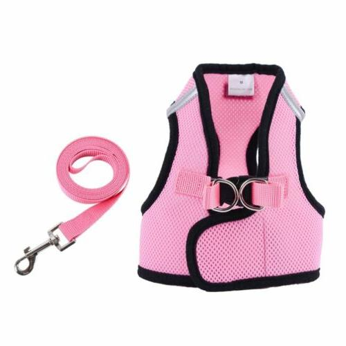 Harness Vest Leash and Mesh Cat Soft Strap