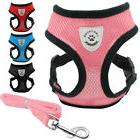 Dog Leash Harness Set Pet Puppy Vest Soft Breathable Chihuah