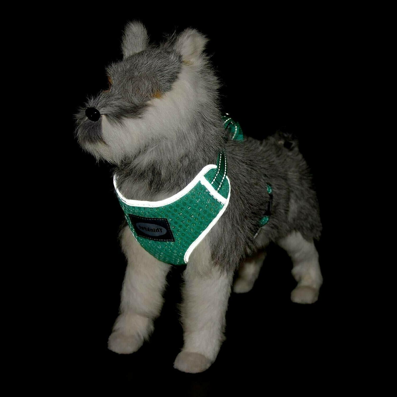 Harness Reflective Puppy Vest Neon