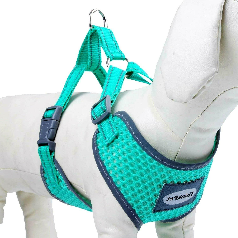 harness thinkpet soft air mesh puppy vest