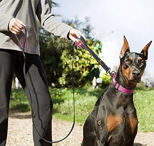 Paw Dog Leash Handle for Extra 7ft Long Leashes for Large