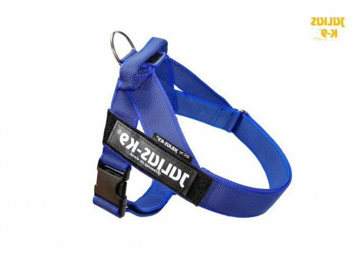 Julius K9 IDC Belt Harness for Dogs New Generation Blue NEW