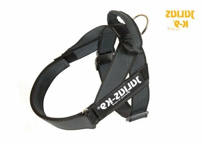 Julius K9 IDC Belt Harness for Dogs New Generation Black NEW