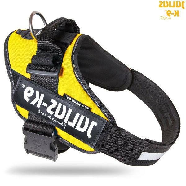 idc powerharness dog harness sun yellow new