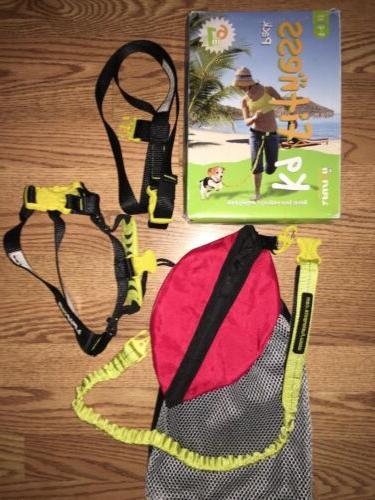 K9 Fitness Jogging Harness Leash Waist Belt Size S 10-30 lb