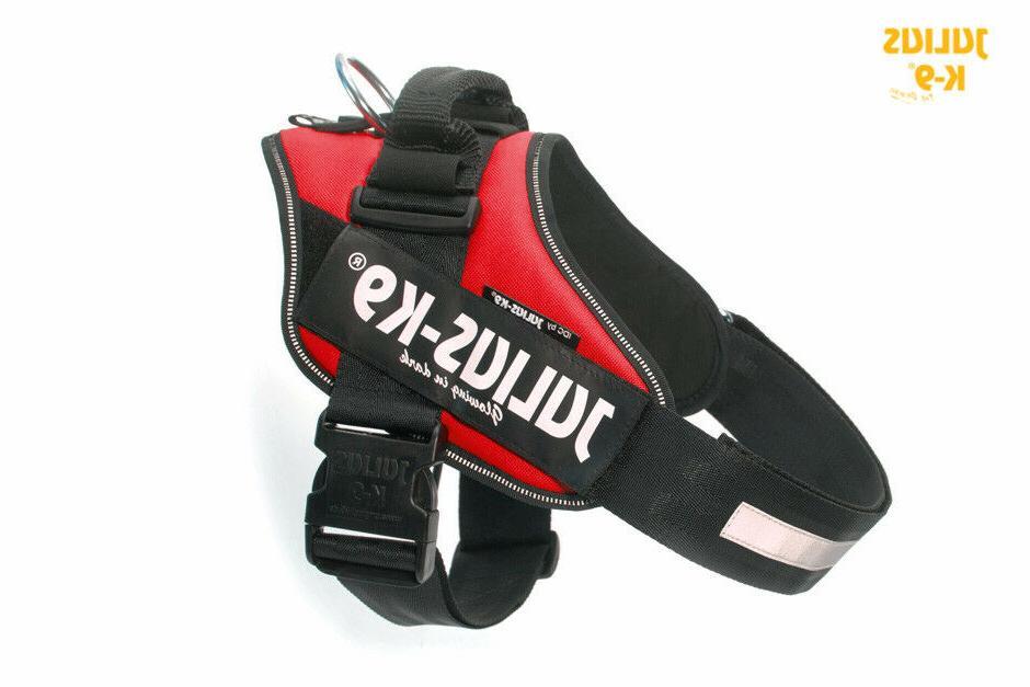julius k9 idc powerharness dog harness red