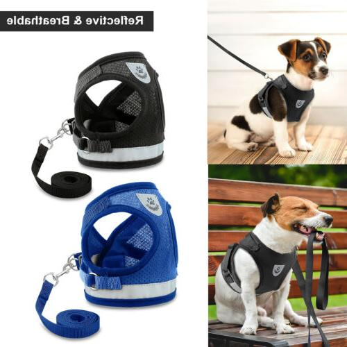 leash pet small dog puppy harness set