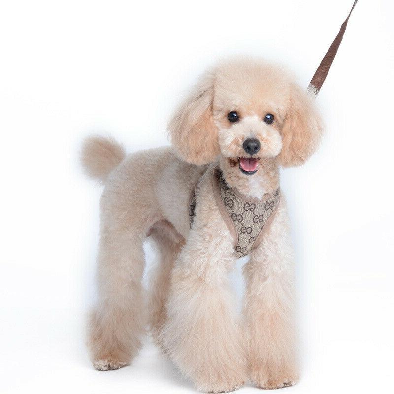 lv gg harness leash set small dog