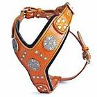 maximus dog harness studded design padded large