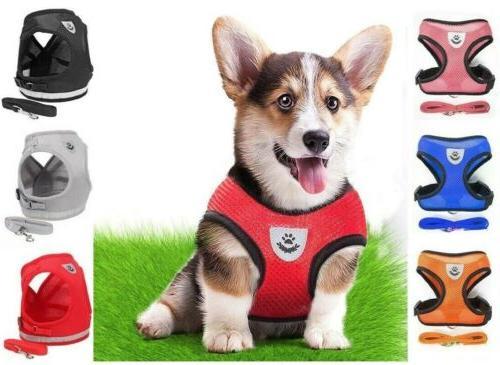 mesh padded soft puppy pet dog harness