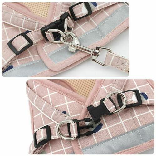 No Harness Adjustable Vest Dogs S M XXL
