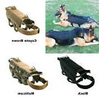 Military MOLLE Dog Harness Police K9 Tactical German Shepher