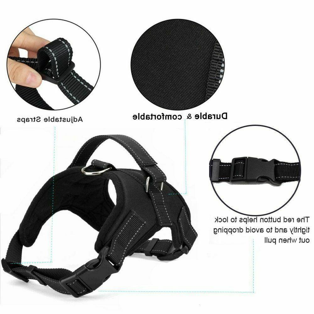 New Dog Vest Harness Leash Pull Adjustable Large XL