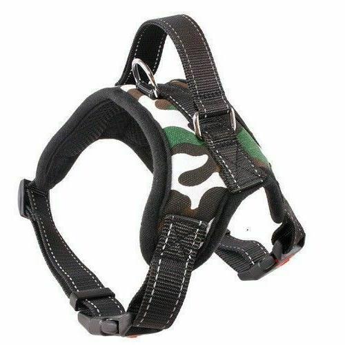 New Harness Leash Pull Adjustable Large