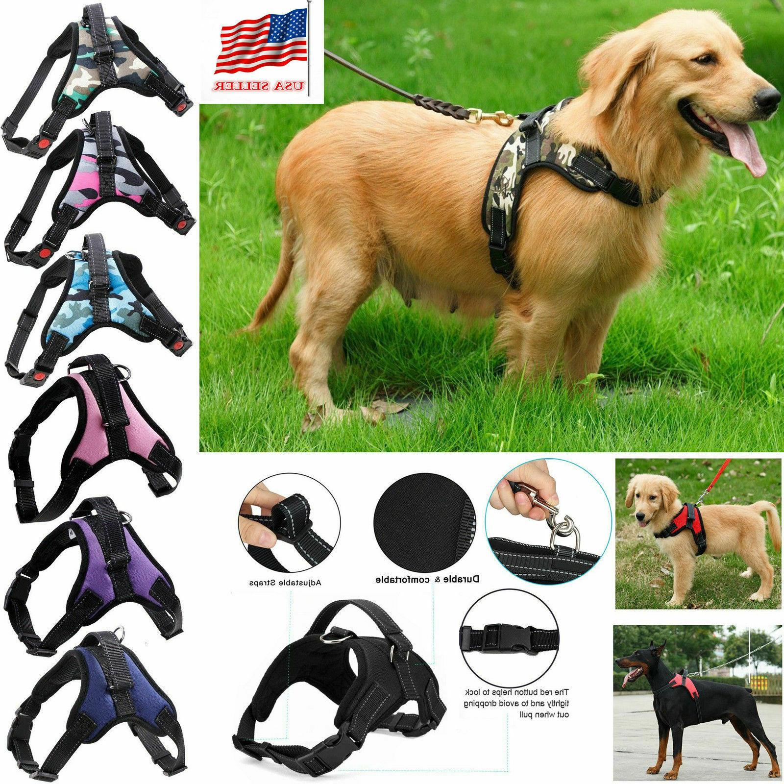 new pet dog vest harness leash collar