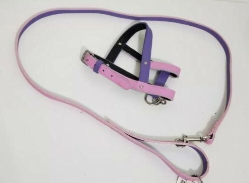 new pet harness and leash 48 small