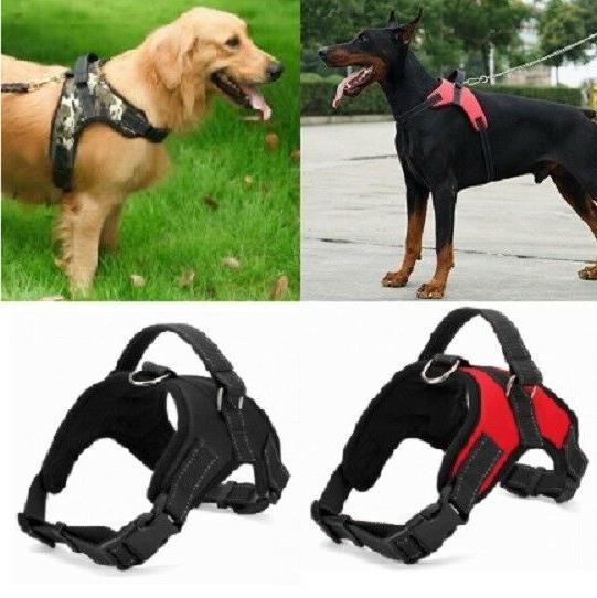 No Pull Adjustable Dog Pet Vest Soft Harness Walk Out Leash