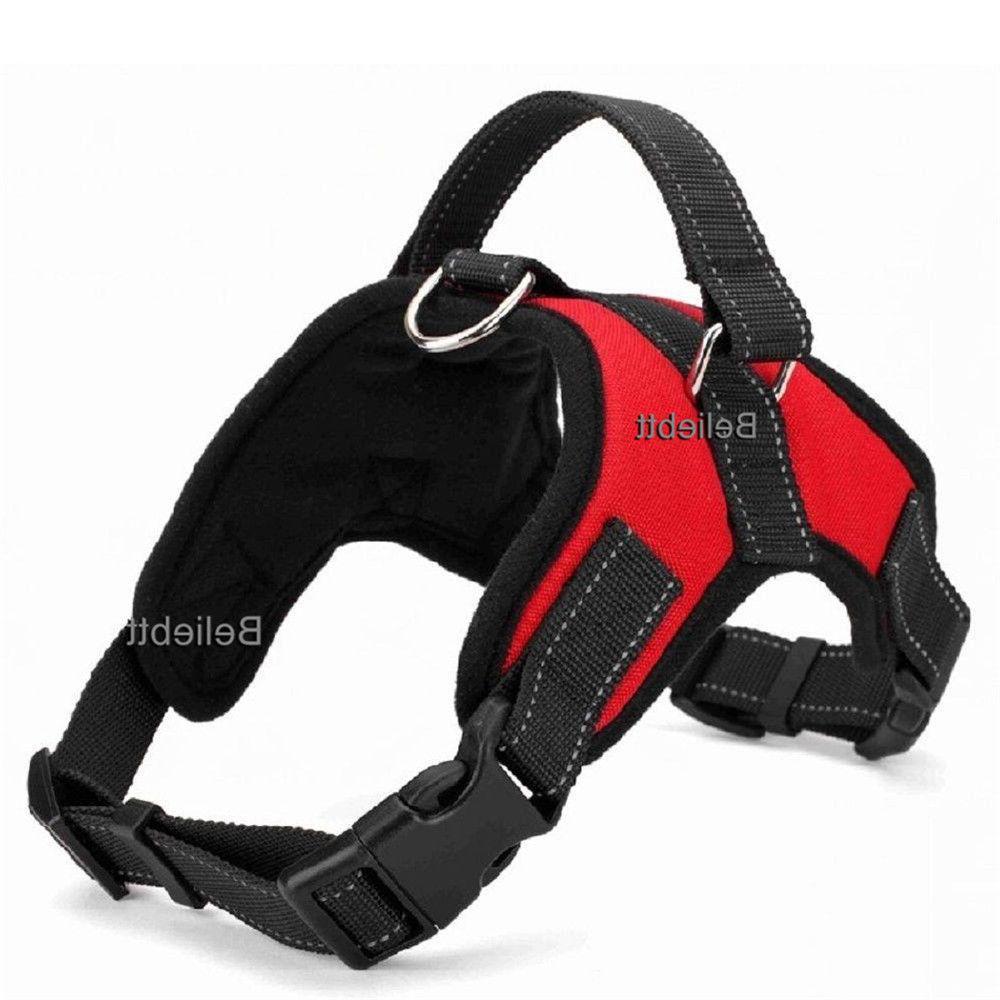 No Pull Dog Vest Leash Collar Set for