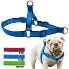 No Pull Dog Harness Durable Nylon Front Leading Vest for Sma