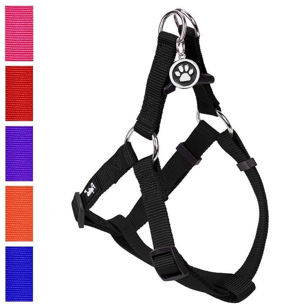 No Pull Dog Harness Reflective Adjustable Basic Nylon Step I