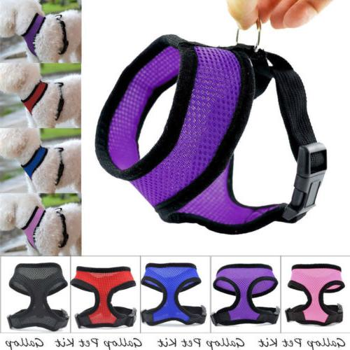 Small Harness Large Dog Cat Vest Pet Puppy Walking Leads Saf