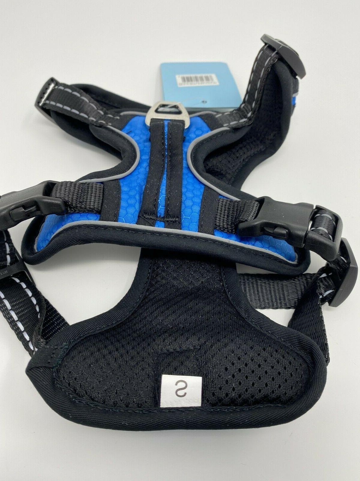 NWT Soft Polyester Harness Small, Blue