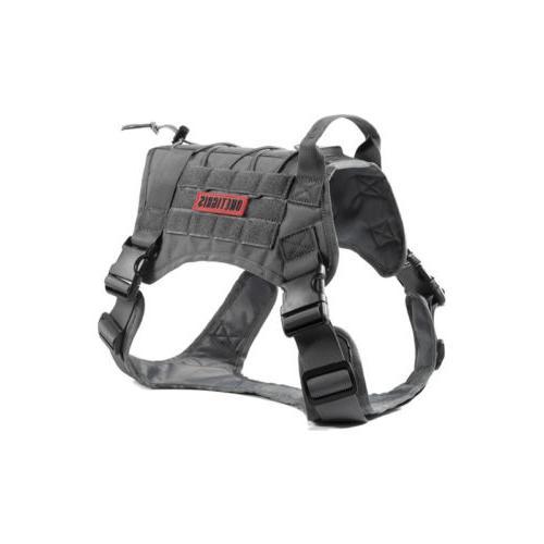 OneTigris Tactical K9 Dog Training Harness Adjustable Molle