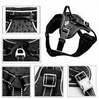 Outdoor Training Hiking Large Dog Harness Vest For Pitbull B