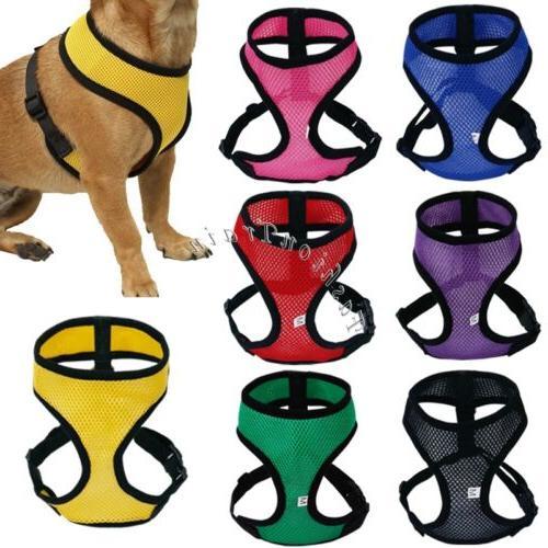 OxGord Pet Control Harness for Dog & Cat Soft Mesh Walk Coll