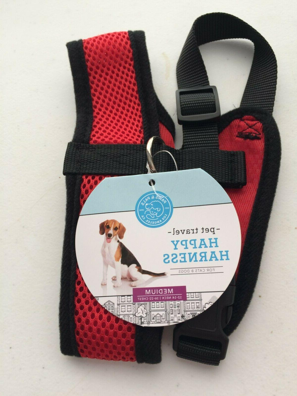 paws and pals pet travel happy harness